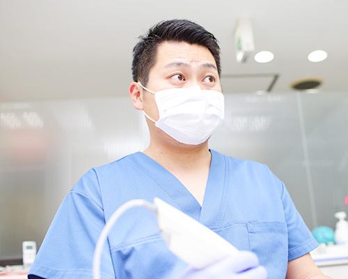 口腔内スキャナーの使用